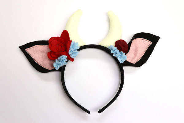 Adult Cow Headband