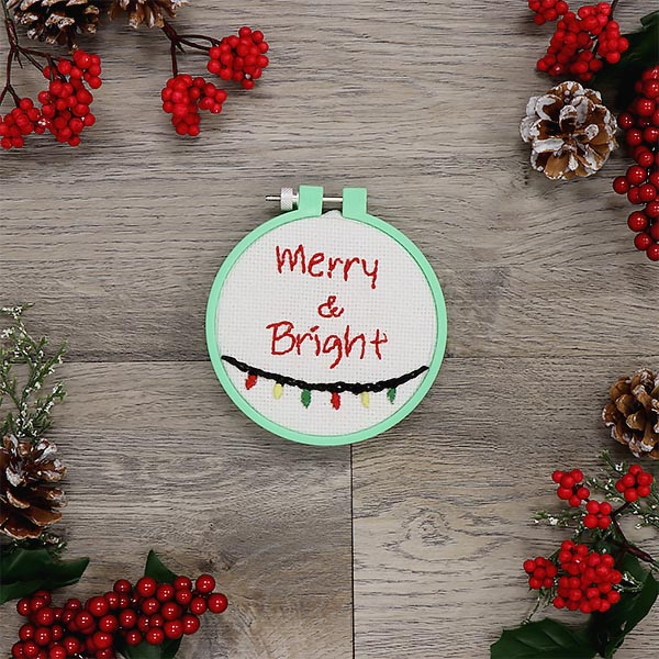 Holiday Embroidery - Merry & Bright