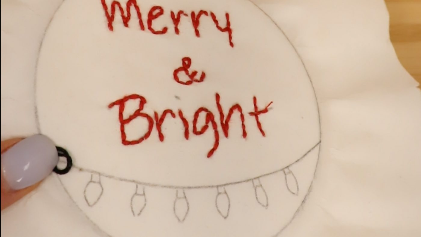 Merry & Bright Step 4