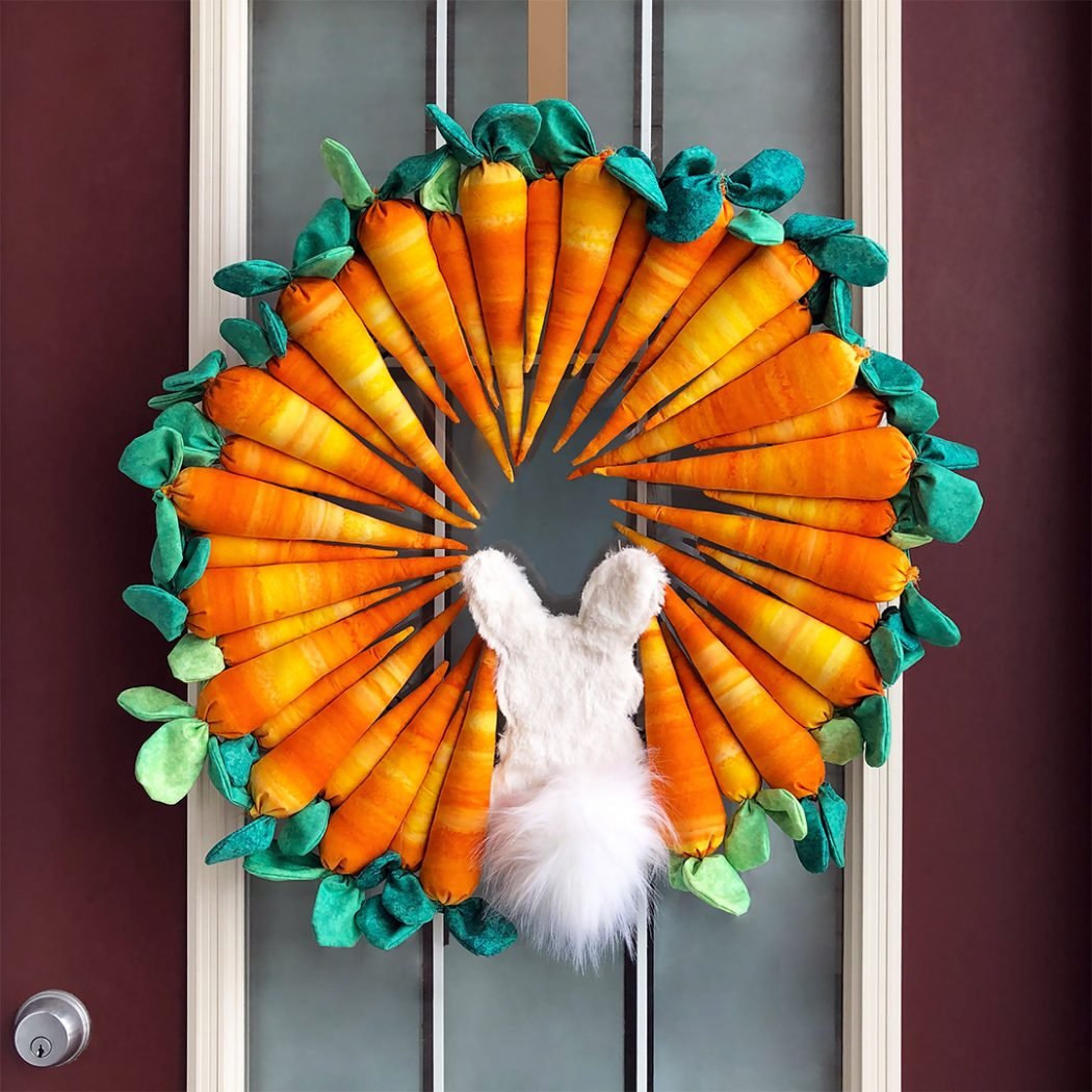 Hungry Bunny Wreath